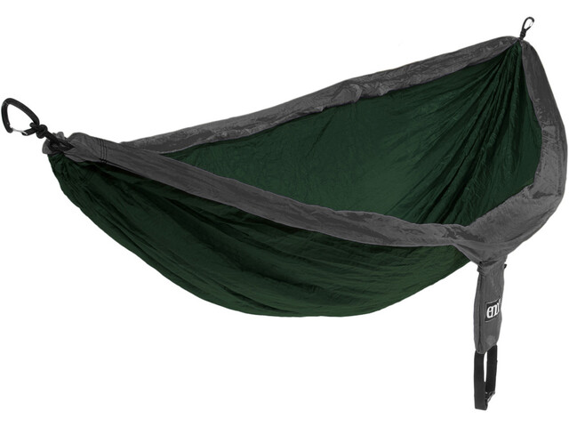 ENO Double Nest Amaca, forest charcoal